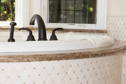 custom bathroom remodeling by building pros in Danville